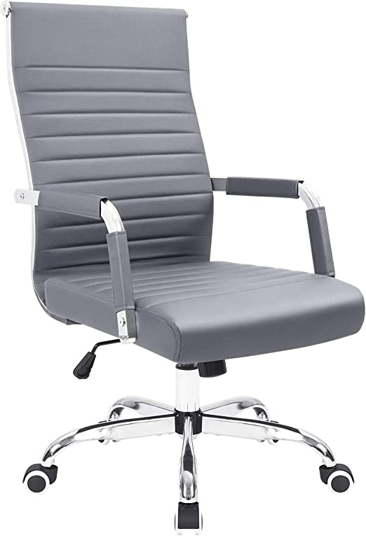 Adjustable Height Off White Executive Conference Task Chair Swivel Chair With Arms Adjustable Office Computer Desk