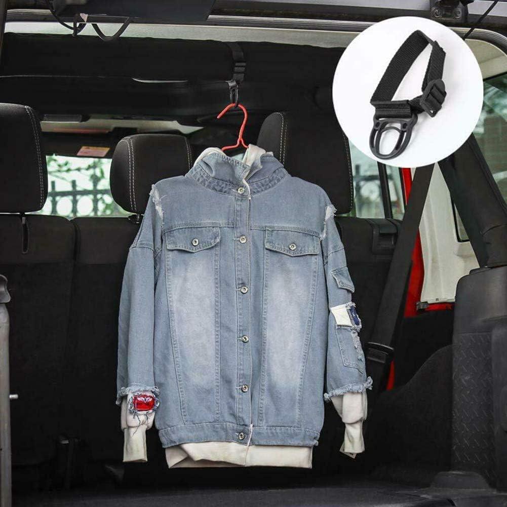 housesweet /Überrollb/ügel Kleiderhaken Kleiderb/ügel f/ür Jeep Wrangler JK JL Unlimited 2007-2018