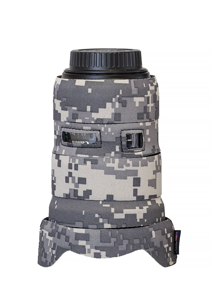 LensCoat Camera Cover Canon 16-35 III F2.8, Camouflage Neoprene Camera Lens Protection (Digital Camo) lenscoat