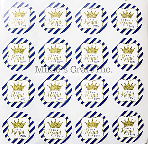 Mikie's Craft Inc. Baby Shower Stickers (1.25