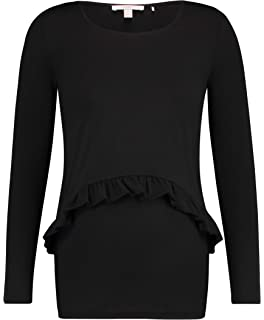 Esprit Maternity T Top /à Manches Longues de Maternit/é Femme Shirt Ls