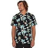Island Style Clothing Mens Hawaiian Shirts Flamingos, Pineapples, Toucans, Floral Tropical Prints Cotton