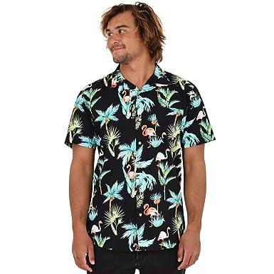 03848c9a9860 Island Style Clothing Mens Hawaiian Shirts Tropical Prints Cotton (Small