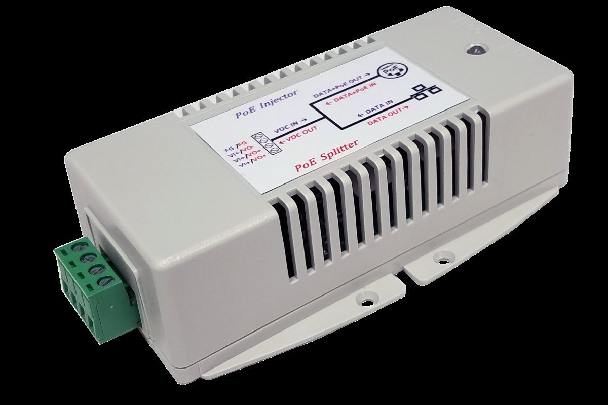 Tycon Systems POE-INJ-SPLT-G 2.5A Gigabit PoE Injector & Splitter by Tycon Systems