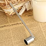 1pc Candle Snuff Bell Shaped Stainless Steel Flamer Long Handle Put Out Fire Wick