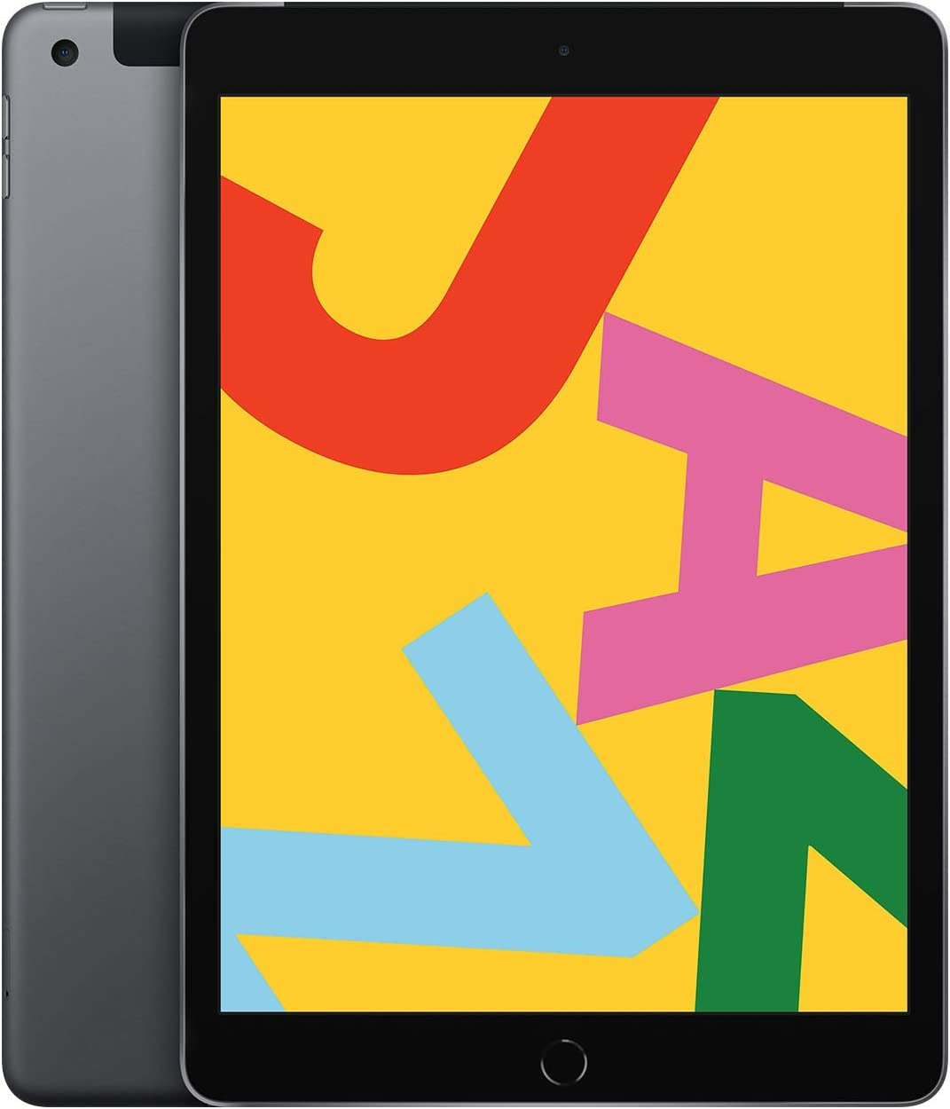 New Apple iPad (10.2-Inch, Wi-Fi + Cellular, 32GB) - Space Gray (Latest Model)