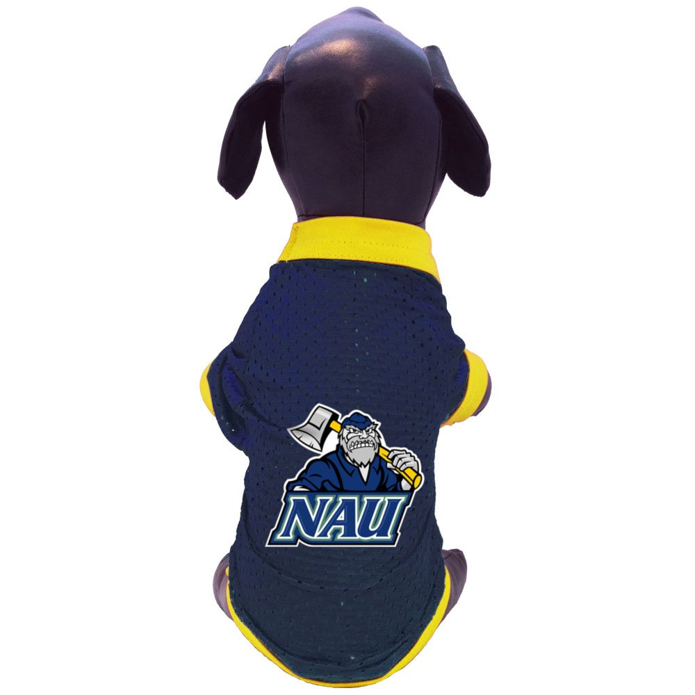 NCAA Northern Arizona Lumberjacks Athletic Mesh Dog Jersey Medium