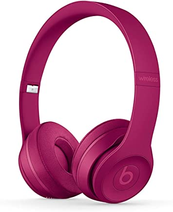 Amazon Com Beats By Dre Solo 3 Wireless On Ear Headphone Neighborhood Collection Brick Red Renewed Electronics