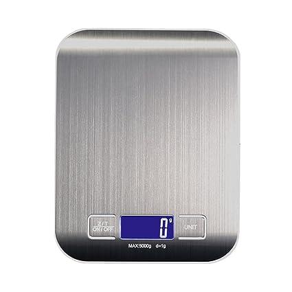 Sicneka Báscula Digital para Cocina, Balanza Cocina de Alimentos Multifuncional Cocina con Gran Pantalla LCD