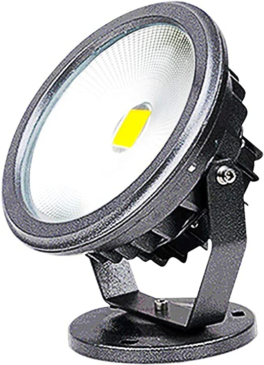 H-XH Foco Proyector LED, 10W/20W/30W/50W/70W Redondo Impermeable ...