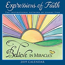 2019 Expressions of Faith — The Inspirational Artwork of Joanne Fink Mini Calendar: by Sellers Publishing, 7x7 (CS-0463)