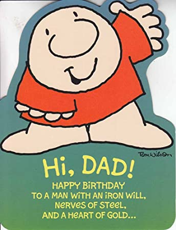 Greeting birthday card ziggy friends hi dad happy birthday greeting birthday card ziggy friends quothi dadquot m4hsunfo