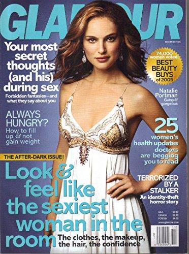 Glamour Magazine November 2005 Natalie Portman on cvr