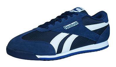 4c8391e56b6 Reebok Royal Classic Rayen Mens Trainers   Shoes-Blue-7  Amazon.co ...