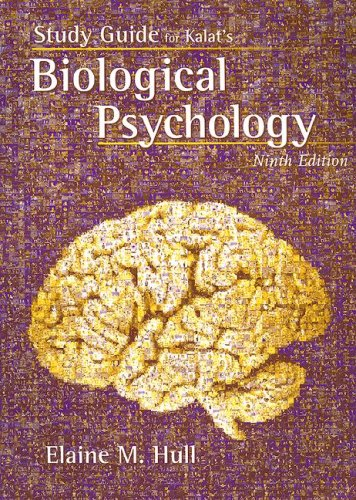 Study Guide for Kalat's Biological Psychology, 9th
