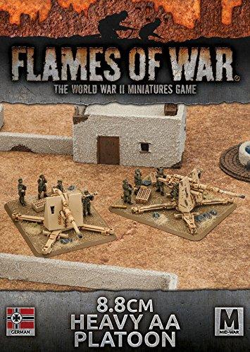 Flames of War 8.8cm Heavy AA Platoon