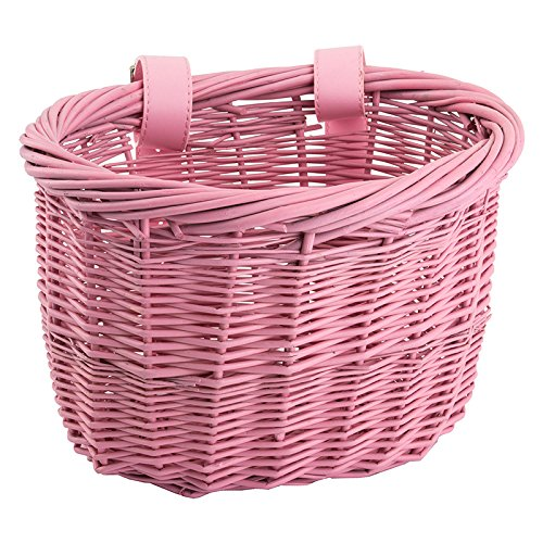 Sunlite Mini Willow Bushel Basket – Pink
