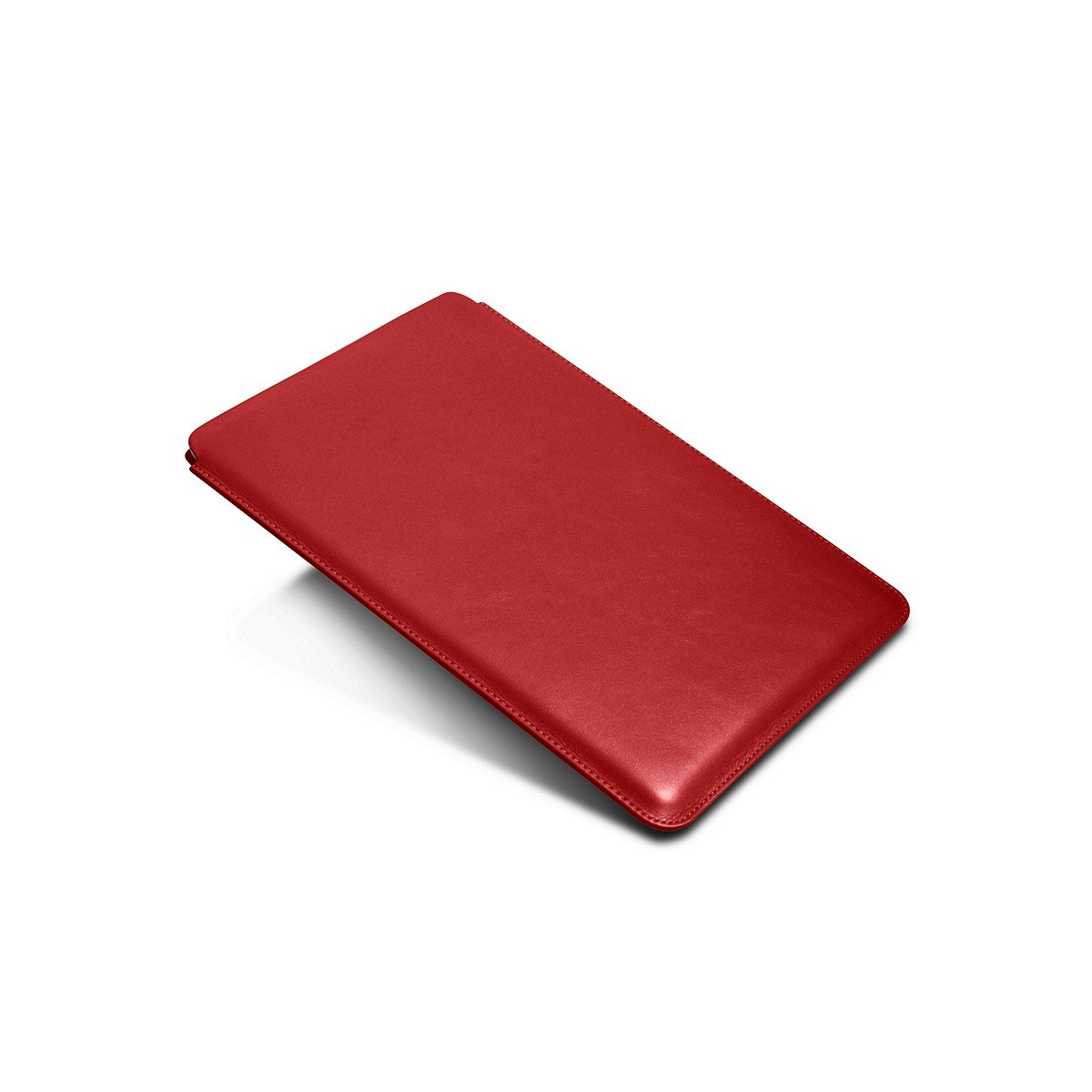 Lucrin - Sleeve for iPad Air 2 / iPad Pro 9.7-inch - Red - Smooth Leather