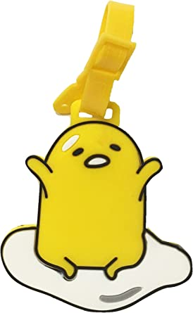 5 2pcs Gudetama Luggage Tags Charms For Travel Collectiable