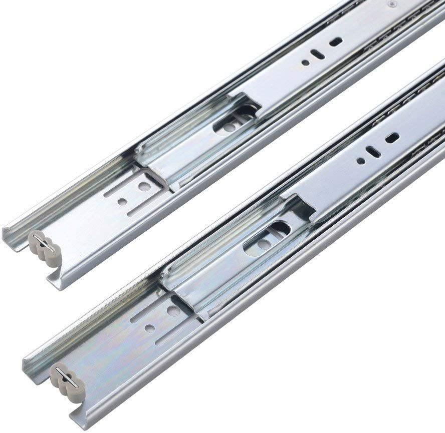10 Inch Full Extension Draw Slides 4 Pack ATUM HOME 2 Pairs 250mm Length Heavy Duty Soft Close Metal Ball Bearing Drawer Runners