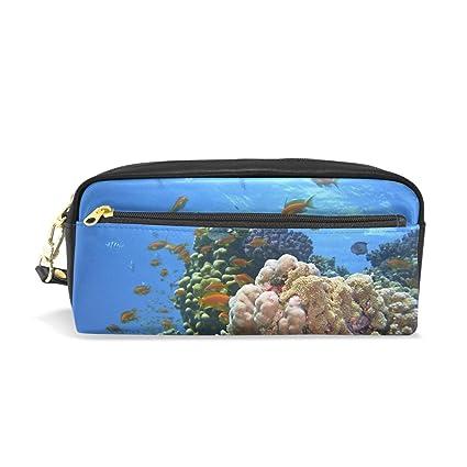 Ahomy Ocean - Estuches para lápices de arrecife y peces de ...