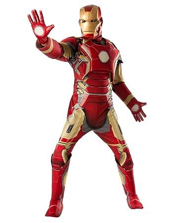 Iron Man Mark 43 Deluxe Kostüm Herren Avengers Age Of Ultron Outfit