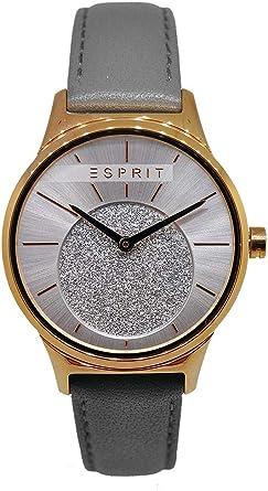 montre esprit femme bracelet cuir