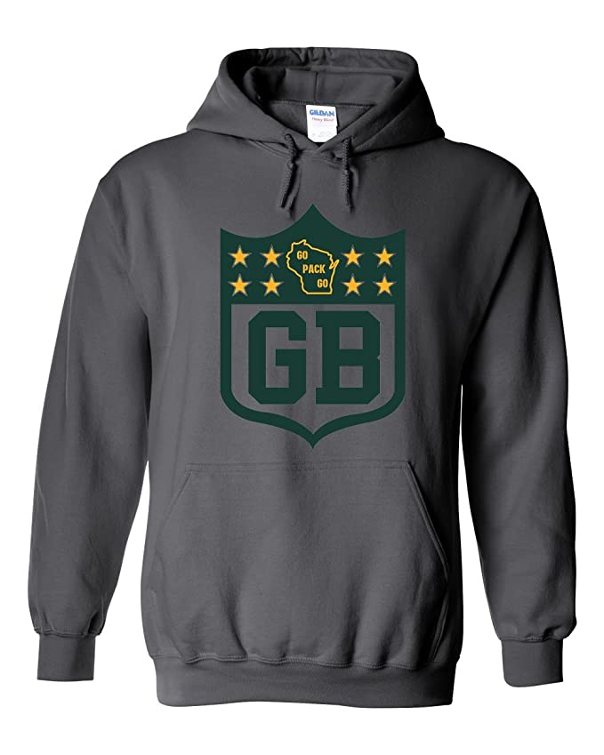America's Finest Apparel Green Bay Shield Hoodie
