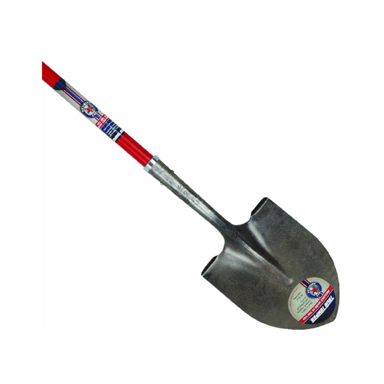 Ames True Temper 1564800 Round Point True American Fiberglass Handle Shovel Ames Company HH-13210810