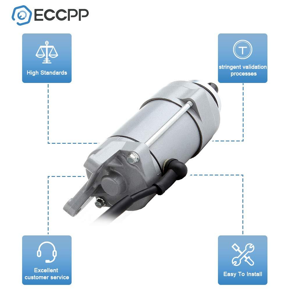 ECCPP Starter Fit Yamaha 1981-1985 Yamaha Virago XV 700 XV750 XV920 696cc 749cc SMU0072 113540 410-54024 18727 SM13-445 464154 42X-81800-60-00