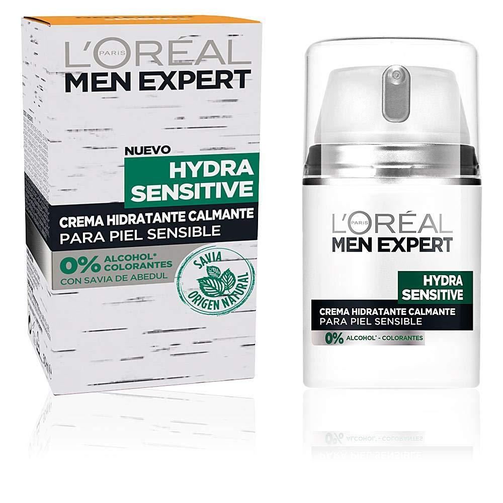 LOréal Paris Men Expert Hydra Sensitive Crema de día para hombre Pieles Sensibles - 50 ml