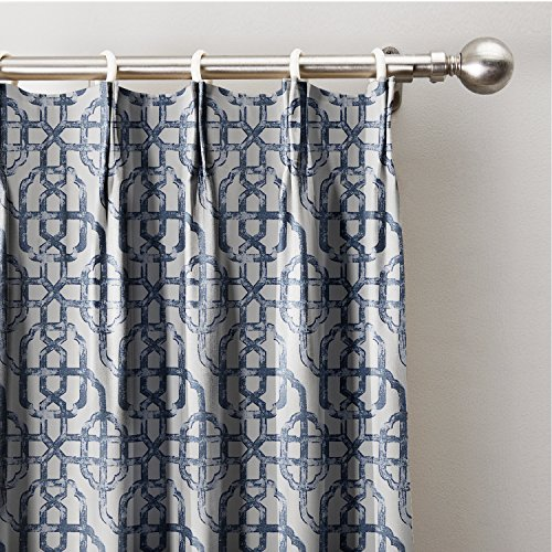 ChadMade Neutral Trellis Window Curtains 100
