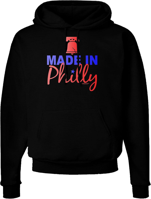 TooLoud Made in Philly Dark Hoodie Sweatshirt