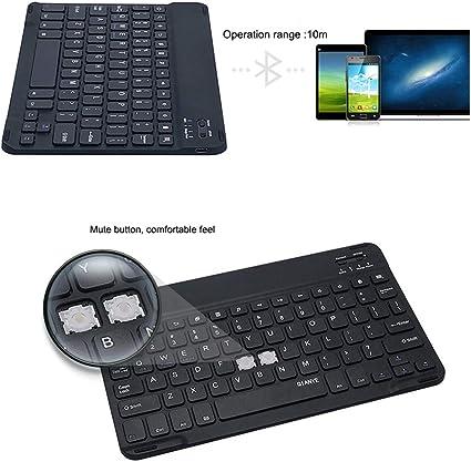 Teclado Bluetooth, Teclado Bluetooth para iPad, Mini Teclado inalámbrico Delgado Bluetooth para TCL Hisense Smart TV LG Panasonic Viera Samsung Skyworth: Amazon.es: Electrónica