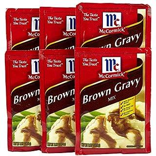 McCormick Brown Gravy Mix - 0.87 oz - 6 pk