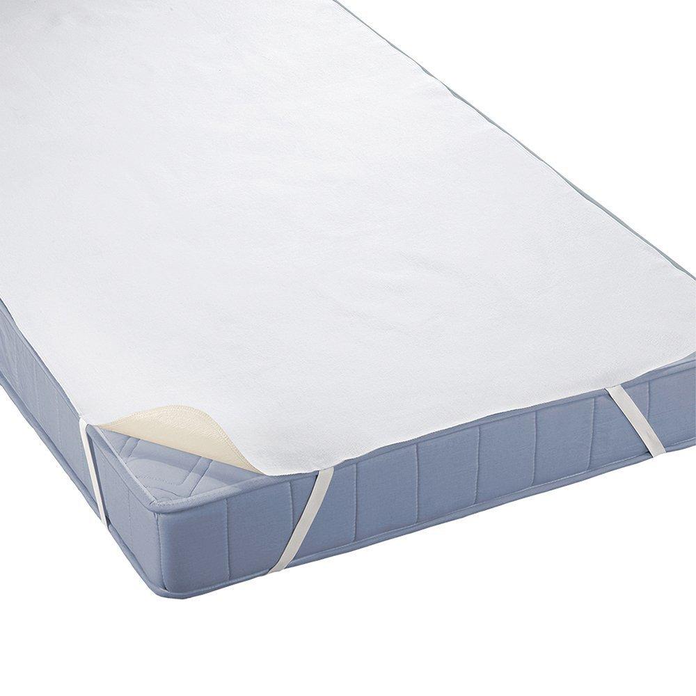 Beautissu Set de 2 Protector de colchón Cubre colchón Molton BEAUTECT Impermeable Transpirable incontinencia niños 4 Gomas Blanco 70x140 cm: Amazon.es: ...