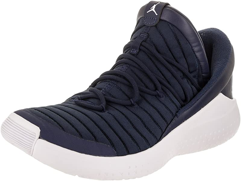 low priced 57018 5bffe Jordan Nike Men s Flight Luxe Midnight Navy White White Training Shoe 7.5  Men