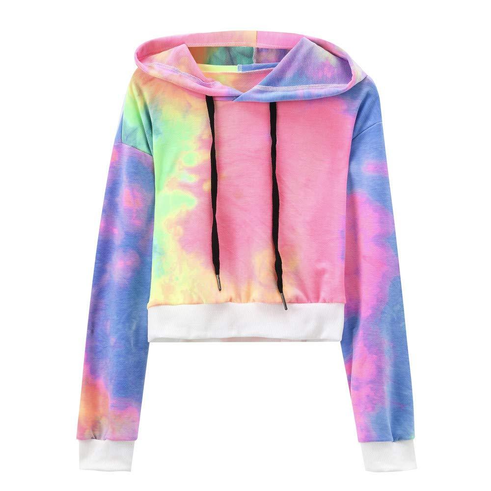 VRTUR Damen Sweatjacke Hoodie Sweatshirt Pullover Velvet Blouse Oberteile Kapuzenpullover Patchwork Pulli mit Kordel und Zip VRTUR-366
