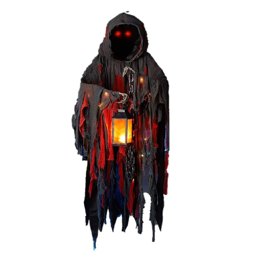 MembersMark Ghoulish Grim Reaper That Hangs from The Ceiling Lights up by MembersMark (Image #1)