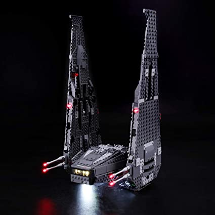 Not Include The Lego Set Compatible with Lego 75104 Building Blocks Model BRIKSMAX Led Lighting Kit for Kylo Rens Command Shuttle