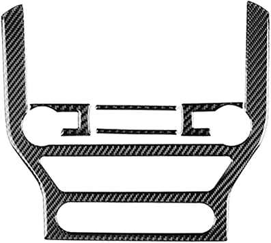 American HXD Carbon Fiber Side Wing Mirror Frame Trim Cover Case Cap for Ford Mustang 2015-2020 Shelby GT500