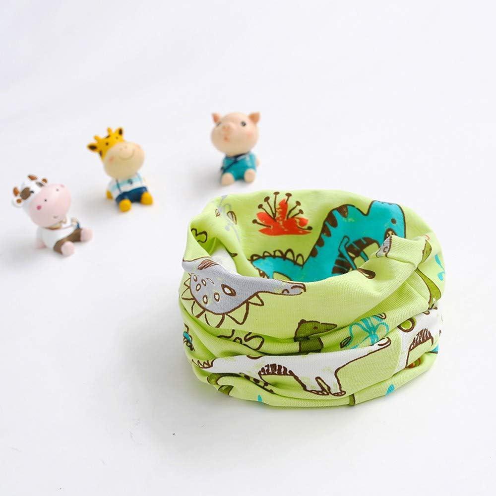 Loop Schal Unisex Kinder Baby Winter Rundschal Cartoon Loopschal Basic Schlauchschal O Ring Halstuch XXYsm
