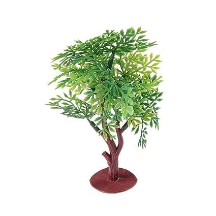 New Micro Landscape Artificial Mini Tree Miniature Garden Dollhouse Ornament 1pc