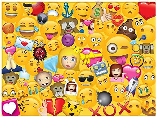 Emoji Universe: 1000-Piece Emoji Jigsaw Puzzle, Emoji - 1000 Piece Kids Puzzle
