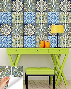 bathroom tile decals 4x4 backsplash peel and stick tile stickers 24 pc 16736