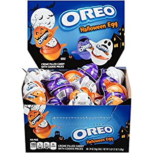 Halloween Oreo Chocolate Candy Eggs, 1.19 Ounce, 48 Count