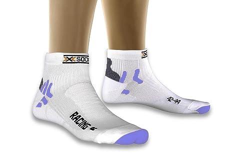 X-Socks - Calcetines Unisex, Talla DE: 39/40, Color Blanco