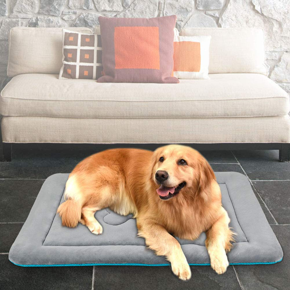 JoicyCo - Colchón para Cama de Perro, Lavable, Antideslizante, Suave, para Mascotas de 70 x 91 cm: Amazon.es: Productos para mascotas