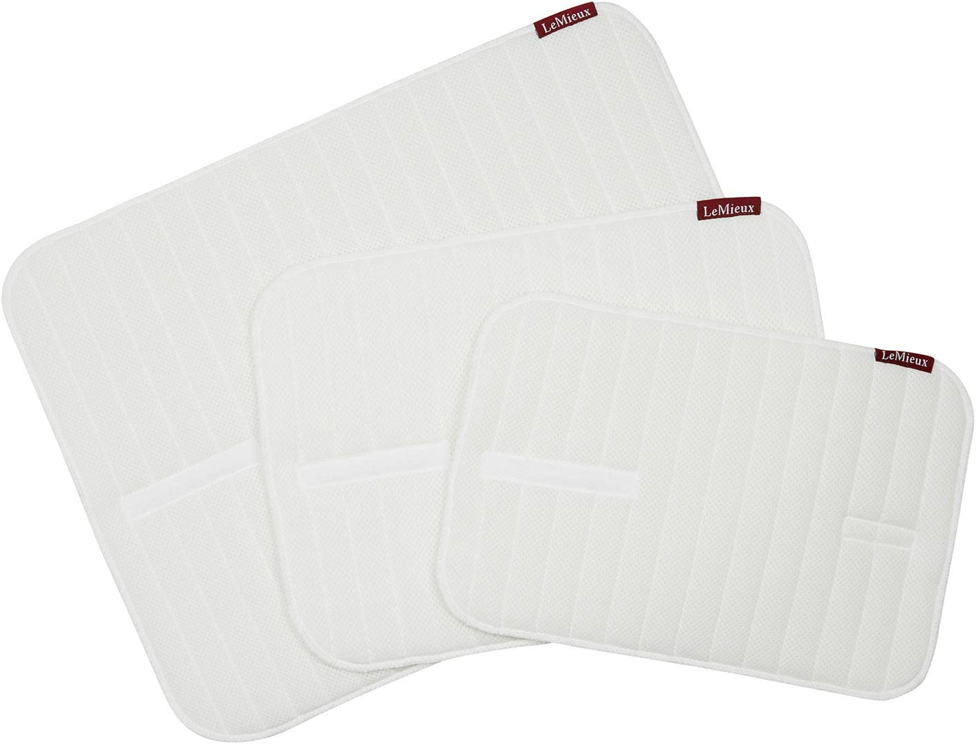LeMieux Memory Foam Bandage Pads Pair Almohadillas de Vendaje, Unisex Adulto