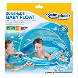 SwimSchool Sunshade Fabric BabyBoat in Blue by Aqua Leisure
